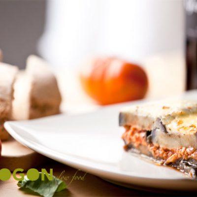 Musaka griega sin lactosa